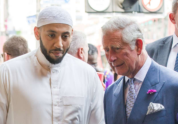 File photo of The Prince of Wales during a visit to Muslim Welfare House to meet members of the local community after the terror attack at Finsbury Park