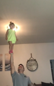 Baby with Triple X Syndrome is a master of balance