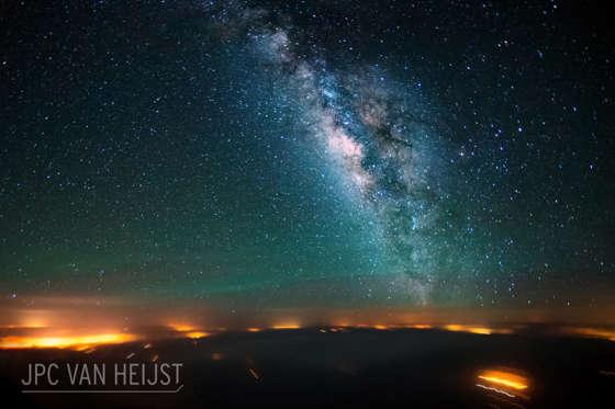 Slide 9 of 31: Star-lit sky