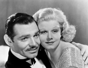 Clarke Gable and Jean Harlow.