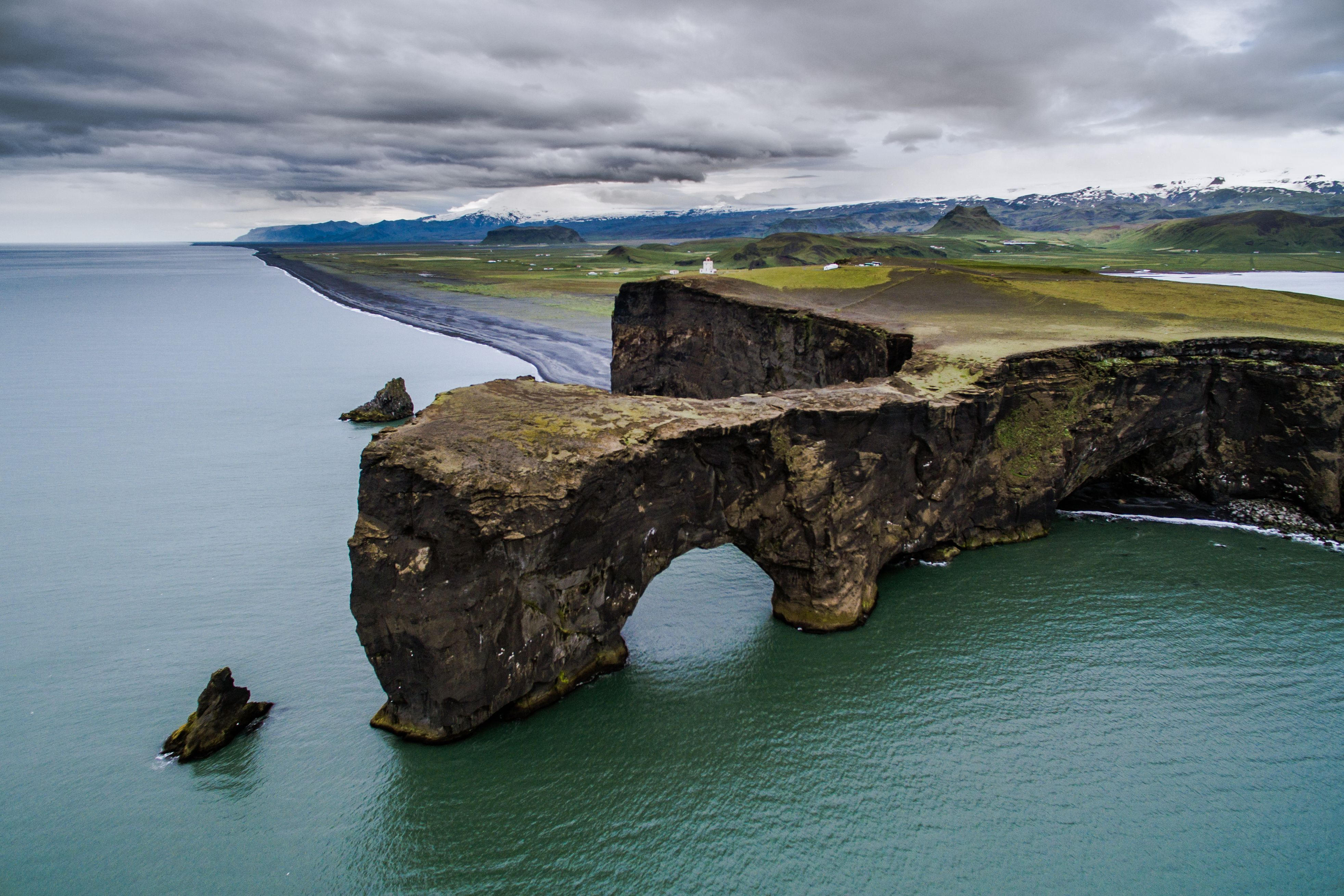 Slide 72 of 73: FULL BODY: http://www.rexfeatures.com/nanolink/qwqt Polish photographer Jakub Polomski used a drone to capture stunning aerial images of Iceland. The landscape photographer drove nearly 2,500 miles around the country using a drone to capture these aerial images.