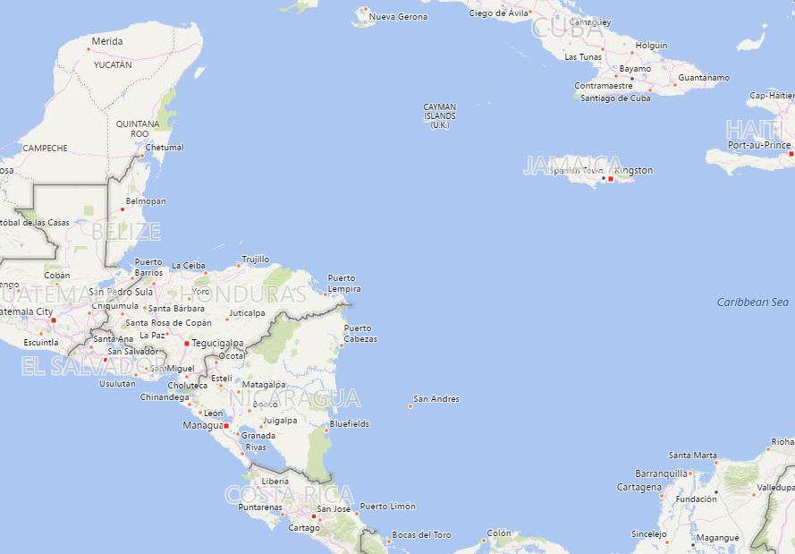 Strong quake in Caribbean Sea shakes Honduras, Mexico and Belize, no tsunami