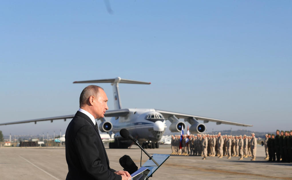 Who is attacking Russia's bases in Syria? A new mystery emerges in the war.
