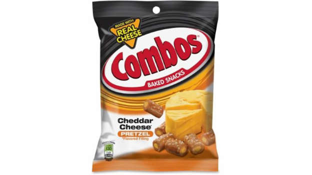 Slide 7 of 22: <p><strong>Cost:</strong> $0.87</p><p>Head to CVS to sink your teeth into 1.8 ounces of delicious cheddar cheese Combos for less than $1. There's nothing like that first crunch.</p>