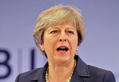 May accused of 'diluting' Brexit deal
