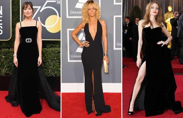 e06f60b447b9 Red carpet glam  Best black dresses worn by celebs