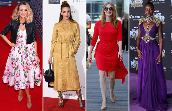 Slide 1 de 61: This week's fashion hits and misses from the A-list