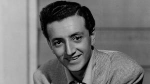 Vic Damone posing for the camera: Vic Damone, teenage radio singing star, is seen, Dec. 1947. (AP Photo)