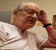 Time flies: 98-year-old man is adorably shocked to learn how old he is