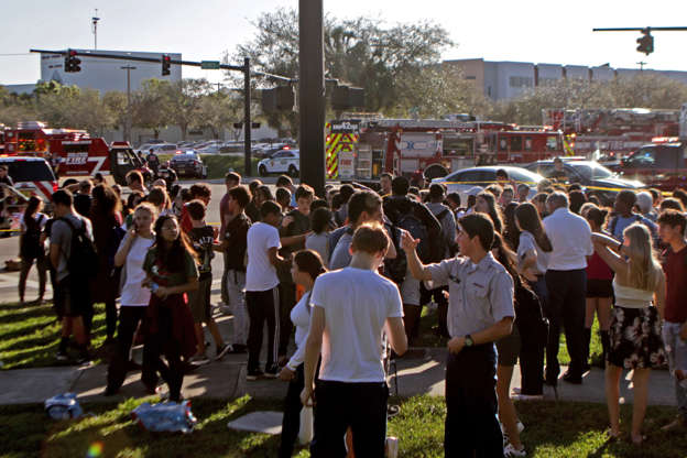 Florida school shooter tormented his mother yet she escorted