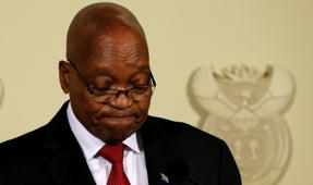 South African President announces resignation
