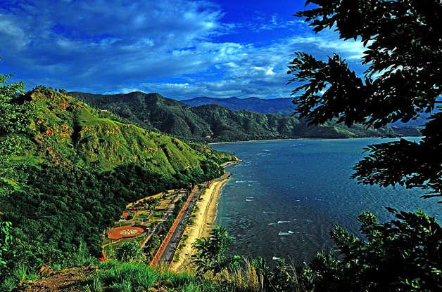 Διαφάνεια 2 από 51: View of the beach around in Fatucama, Dili Timor Leste