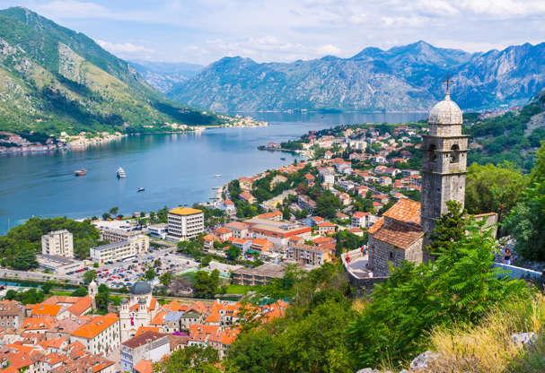 Διαφάνεια 9 από 51: The Kotor bay is one of the most beautiful places in Montenegro, it boasts the preserved Venetian fortress, old tiny villages, medieval towns and scenic mountains.