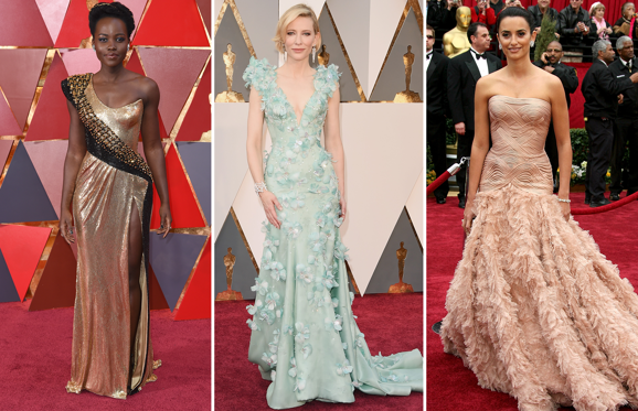 Diapositiva 1 de 69: The Oscars are the pinnacle of the Hollywood awards season. Let's look at the most beautiful gowns to have graced the red carpet.