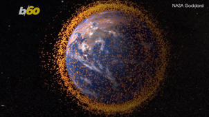 a close up of a star in the dark: Space Junk Could Help Us Find Aliens