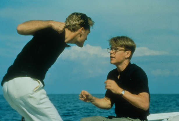 Διαφάνεια 13 από 28: The Talented Mr Ripley, Jude Law, Matt Damon 2000