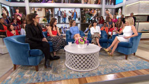 a group of people in a room: 'UnREAL' cast, creators talk inspiration behind new season