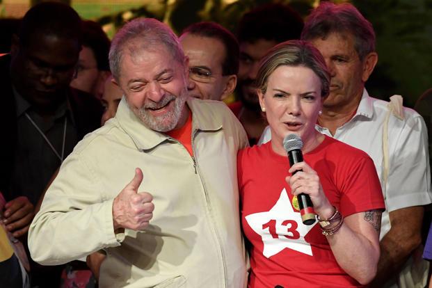 Resultado de imagem para Presidente do PT diz duvidar que STF impeça prisão de Lula a tempo