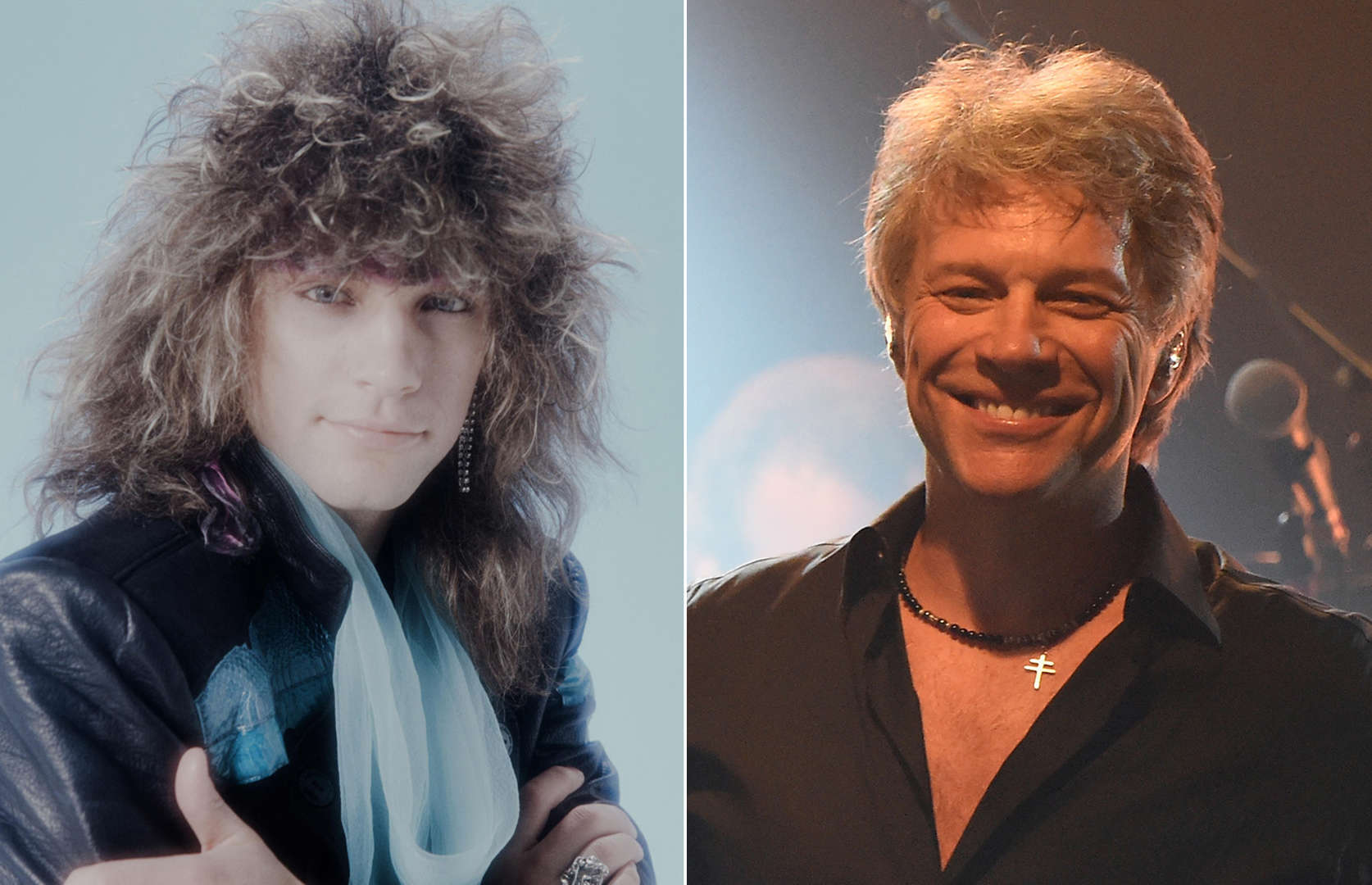 Celeb crushes of the '80s: Then and now
