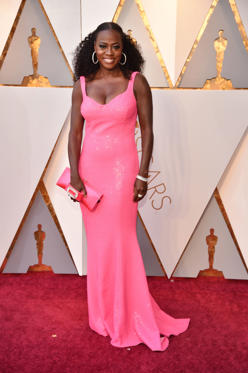Slide 47 de 49: HOLLYWOOD, CA - MARCH 04:  Viola Davis attends the 90th Annual Academy Awards at Hollywood & Highland Center on March 4, 2018 in Hollywood, California.  (Photo by Kevin Mazur/WireImage)