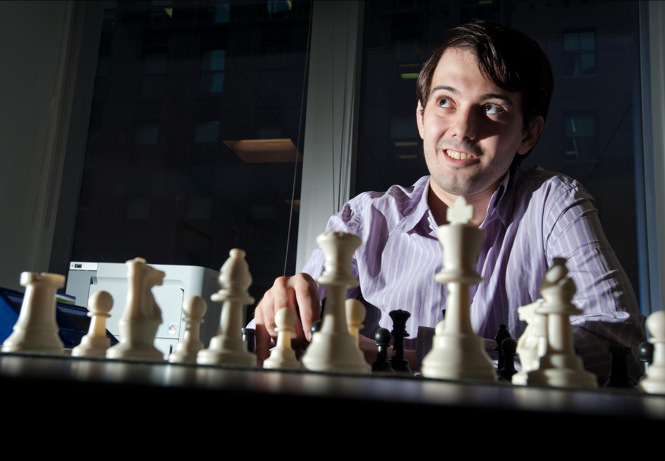 Chess savant homeless