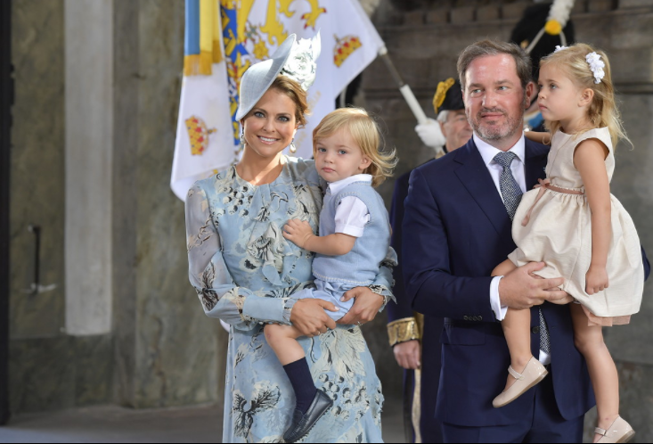Prinsessbebisen pa mandag avslojas namnet