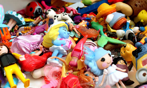 "Slide 1 of 31: If you're overdue for a closet cleaning session, this might give you extra motivation: Those toys from the '80s and '90s that you stashed away in storage could be worth hundreds, or even thousands of dollars today. Of course, not all ""vintage"" toys are worth a lot of money, so it's important to know what's actually valuable, and what's just junk.Click through to find out which collectibles are more valuable than gold."