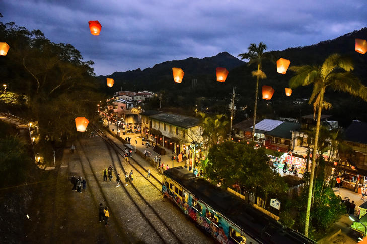 The annual sky lantern festival in northern Taiwan's Pingxi District was named by the world's largest publisher of travel guides as one of the world's 14 festivals a person must attend in their lifetime.