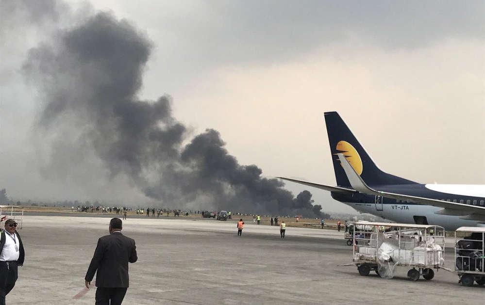 Nepal plane crash kills at least 50 - army spokesman