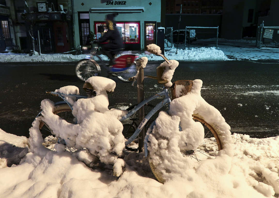 Photos: Nor'easter strikes the Northeast