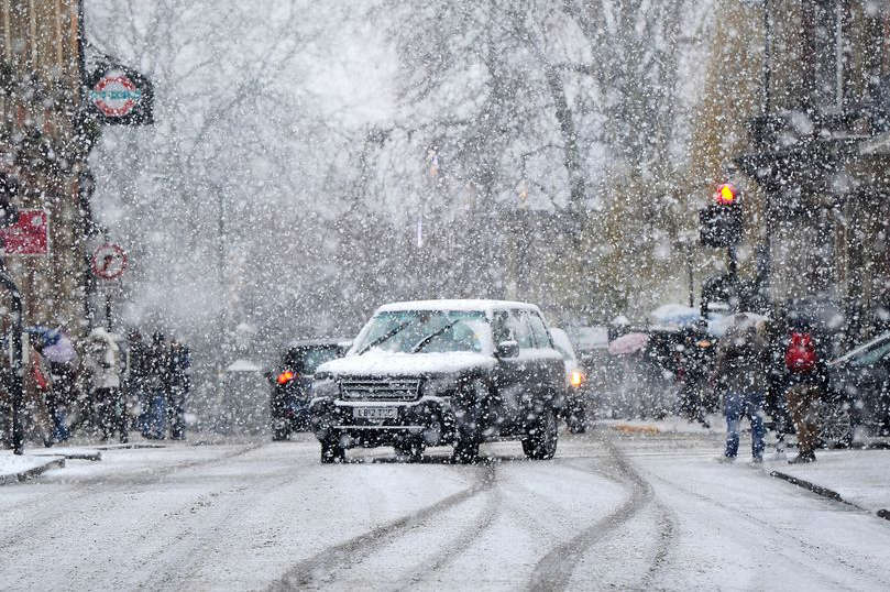 easter weekend snow warning as 39 beast from the east 39 could return for third time. Black Bedroom Furniture Sets. Home Design Ideas