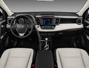 2018 Toyota Rav4 Hybrid Xle Awd Interior Photos Msn Autos