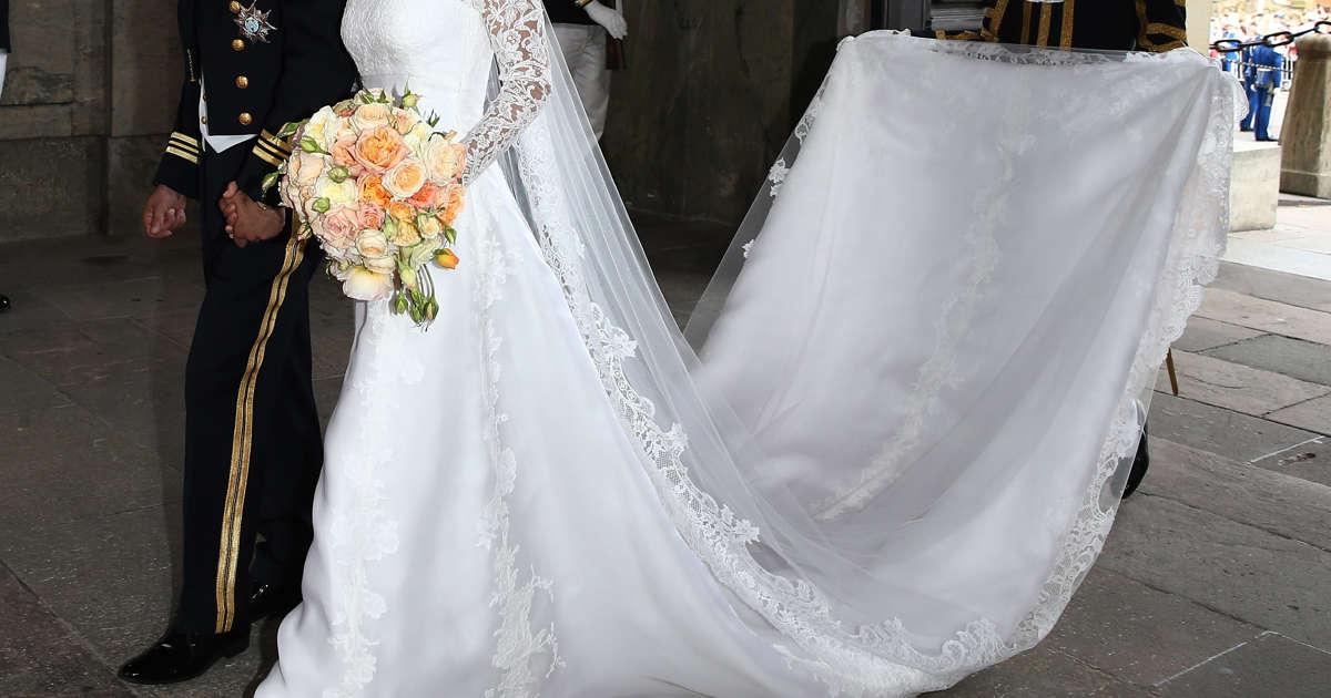 Erraten Sie die Royals anhand ihrer Brautkleider?