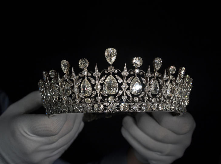 Undated handout photo issued by Historic Royal Palaces of the Fife Tiara which will be on display at Kensington Palace.