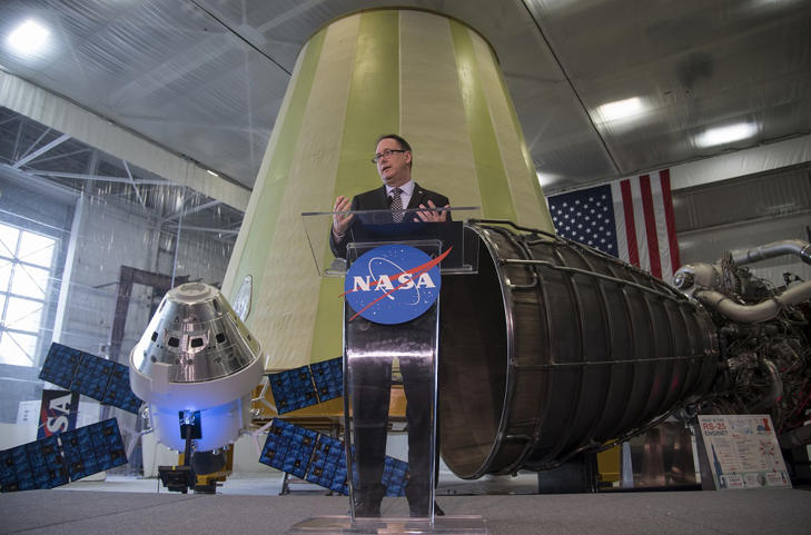 Acting NASA Administrator Robert Lightfoot discusses the fiscal year 2019 budget proposal