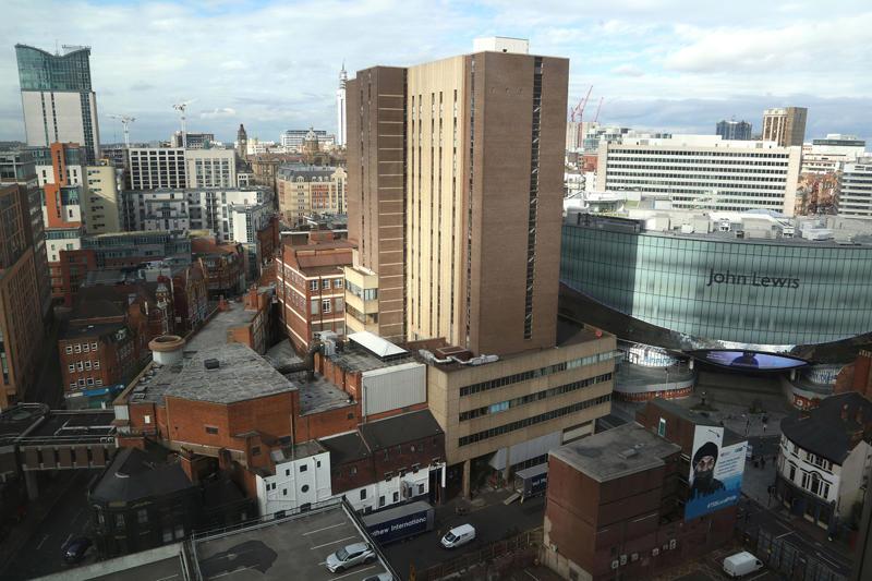Birmingham skyline - provided by Shutterstock