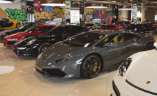 Inside Dubai's $45 million supercar showroom