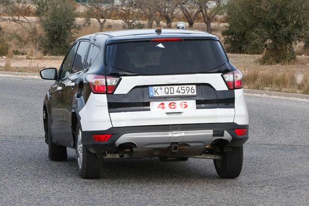 New 2020 Ford Kuga Spied For The First Time
