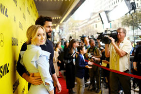 CAPTION: AUSTIN, TX - MARCH 09: Emily Blunt and John Krasinski attend the 'A Quiet Place' Premiere 2018 SXSW Conference and Festivals at Paramount Theatre on March 9, 2018 in Austin, Texas. (Photo by Matt Winkelmeyer/Getty Images for SXSW)