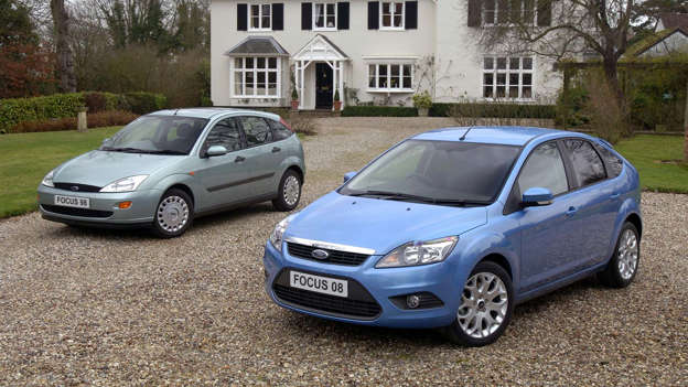 20 Years Of The Ford Focus In Pictures