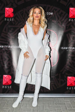 Slide 31 de 49: Mandatory Credit: Photo by Katch/REX/Shutterstock (9454677aj) Rita Ora Rita Ora in concert at BASE Dubai, United Arab Emirates - 10 Mar 2018