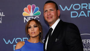 J-Lo, Alex Rodriguez are posing for a picture: Jennifer Lopez says she's open to getting married a 4th time