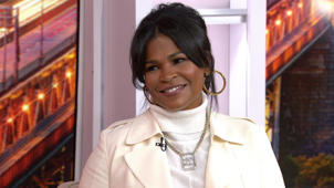 Nia Long posing for the camera: Nia Long joins Kathie Lee and Hoda to talk 'Roxanne Roxanne'