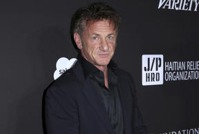 Sean Penn arrives at the 2018 Sean Penn J/P Haitian Relief Organization Gala at Milk Studios on Saturday, Jan. 6, 2018, in Los Angeles.