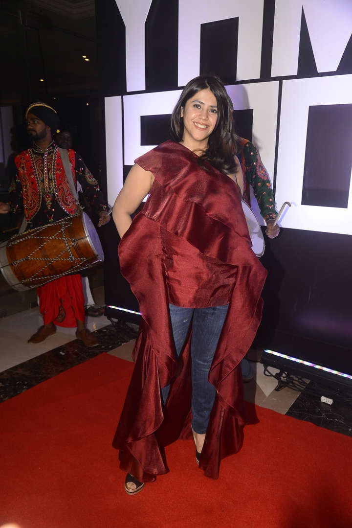 Ekta Kapoor brutally trolled for wearing 'gown with jeans'