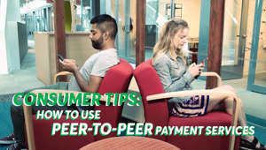 a person sitting at a table: Make Your Money Safe: 5 Tips For Peer-to-Peer Payment Apps
