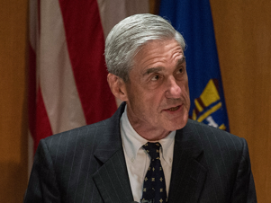 Robert Mueller wearing a suit and tie:  The special counsel Robert Mueller is turning 74 as the second week of the first trial in his investigation into Russia's interference in the 2016 elections seeks to prosecute President Donald Trump's former campaign chairman, Paul Manafort. That probe is also examining whether the Trump campaign colluded with the Kremlin, and if Trump has obstructed justice while in office. In Washington, Mueller has a reputation for being a tenacious investigator. Both Republicans and Democrats welcomed his appointment in May 2017 with  bipartisan backing. His team has reached 34 indictments in the investigation so far, but the increasing breadth and length of his investigation has  irked many Trump supporters, and the president himself. Mueller's colleagues, meanwhile, say he has proven his bipartisan bona fides over the years. After all, he served under both Republican and Democratic presidents as FBI director and as an attorney in the Department of Justice. As the probe into Russia, Trump, and his associates wages on, here's a look at Mueller's history: