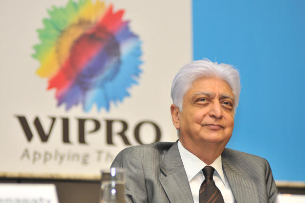 Slide 20 of 20: BANGALORE, INDIA JULY 20: Wipro Chairman Azim Premji during the announcement of Quarter 1 Results at Wipro Headquarters Sarjapur Road on July 20, 2011 in Bangalore, India. (Photo by Aniruddha Chowdhury/Mint via Getty Images)