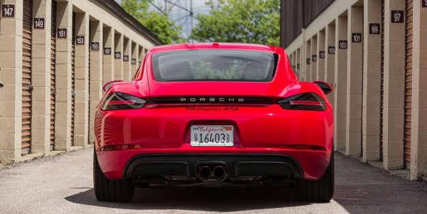 2018 Porsche 718 Cayman Engine And Transmission