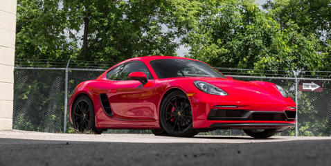 Get a detailed review of the 718 Cayman's exterior design and see how its dimensions match up with the competition.